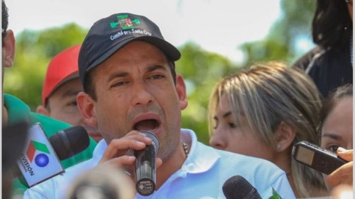 Luis Fernando Camacho golpista Bolivia