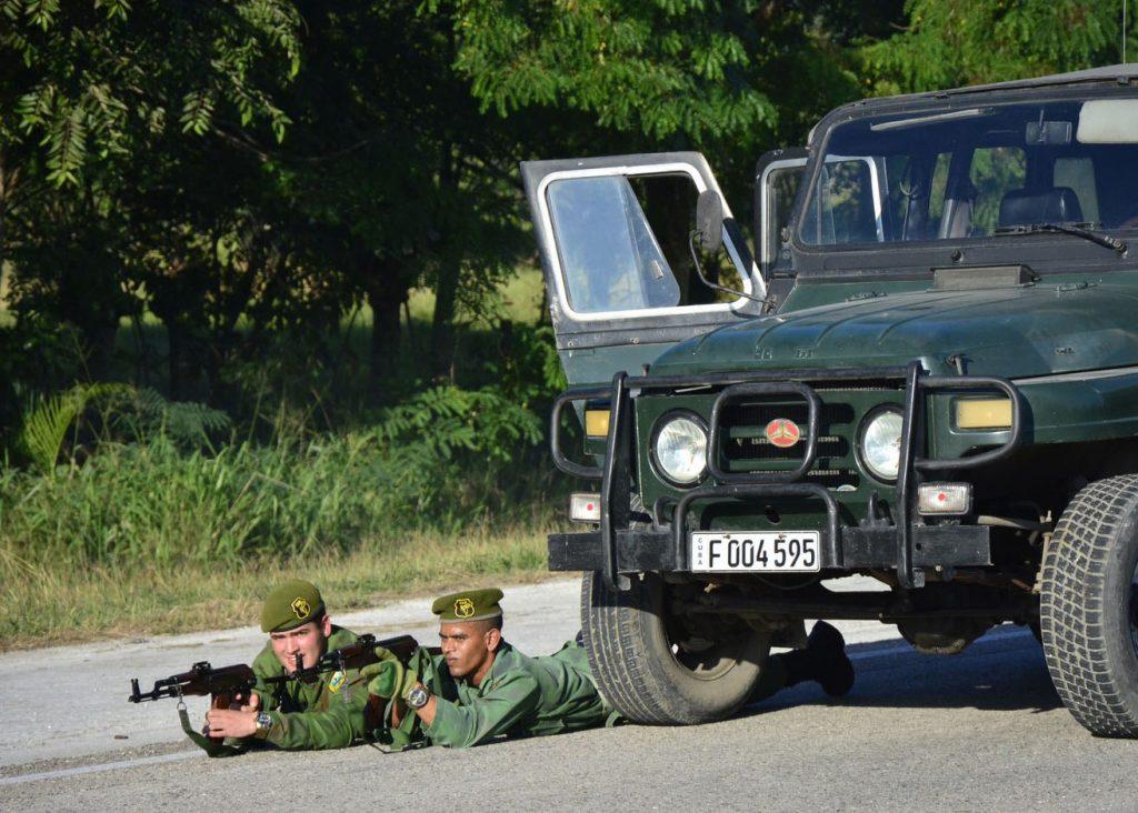 Diversos ejercicios de preparación para la defensa se efectuaron en la provincia.