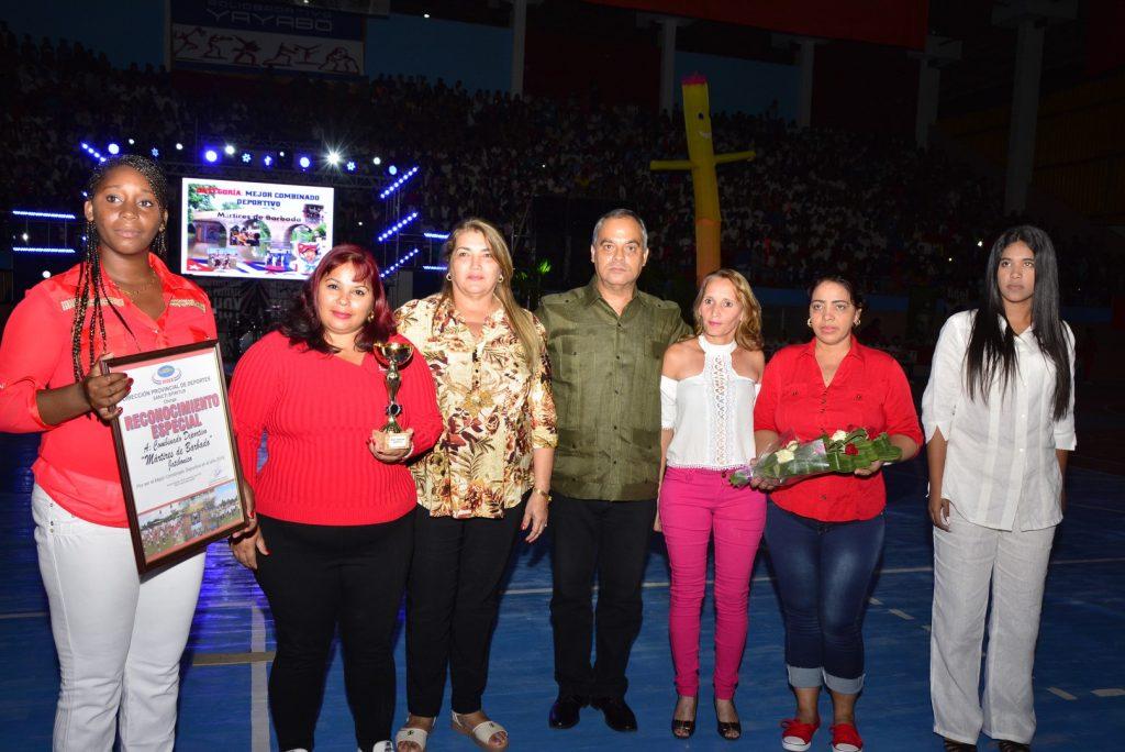 En la Gala se reconocieron a  técnicos, profesores y activista destacados de las diferentes modalidades del Deporte para todos.