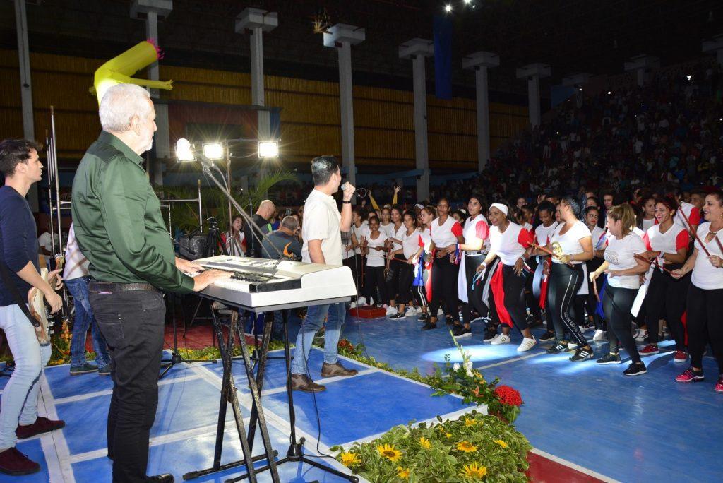 El grupo Moncada tuvo a su cargo el cierre de la Gala.