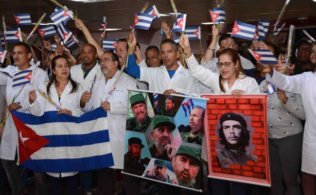 cuba, bolivia, minsap, medicos cubanos, golpe de estado, evo morales, medicos cubanos