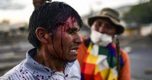 Bolivia, Golpe, violencia, prensa