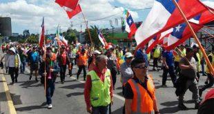 chile, manifestaciones, sebastian piñera, huelga