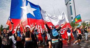 chile, manifestaciones, sebastian piñera, violencia