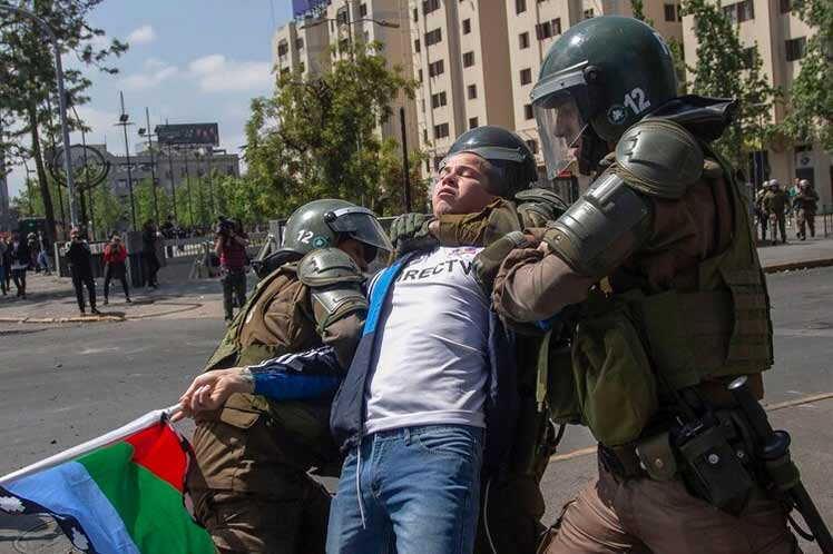 chile, sebastian piñera, violencia, manifestaciones