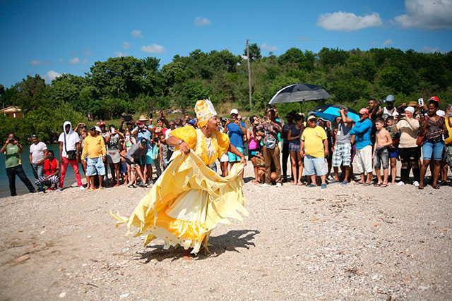 La presente edición está dedicada a los veinte años del Conjunto Folklórico de Trinidad Leyenda Folk. (Foto: Oscar Alfonso)