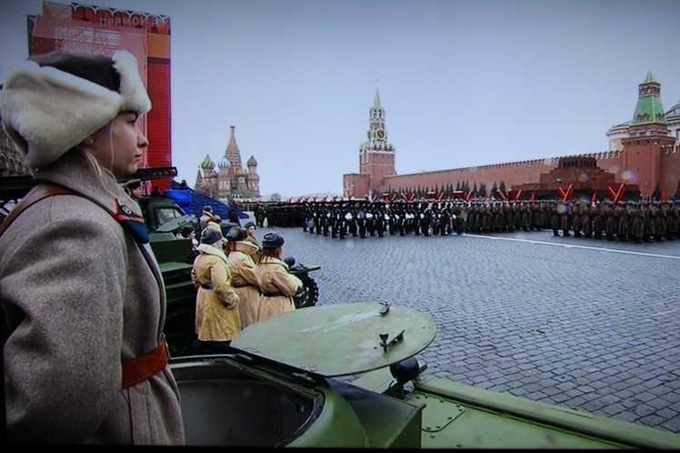 rusia, revolucion socialista de octubre, plaza roja