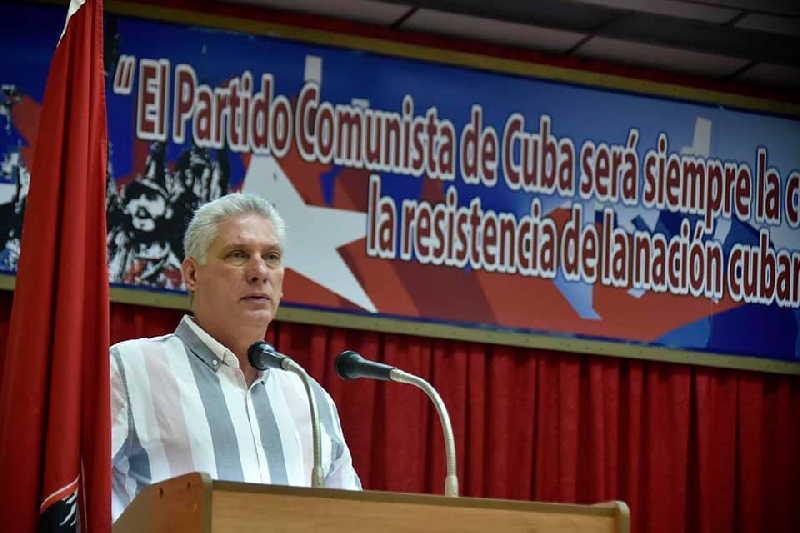 cuba, ciego de avila, miguel diaz-canel, presidente de la republica de cuba, calentadores solares, construccion de viviendas, eide