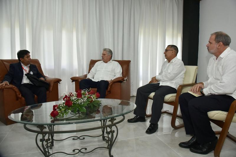 cuba, solidaridad con cuba, miguel diaz-canel, presidente de la republica de cuba