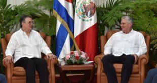 Cuba, México, Raúl Castro, Díaz-Canel