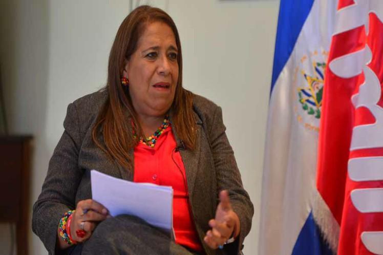 el salvador, relaciones diplomaticas, venezuela, embajadas, fmln