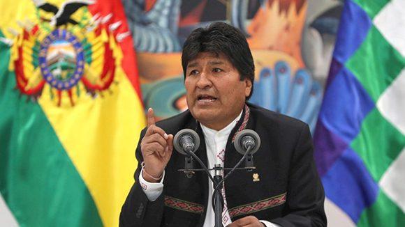 El propio presidente Evo Morales denunció que la democracia en Bolivia está en  riesgo. (Foto: EFE)