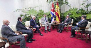 Cuba, España, Raúl Castro Reyes de España