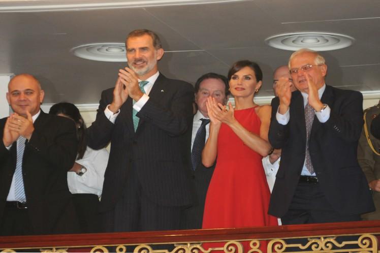 Los reyes de España agradecieron la propuesta. (Foto: PL)
