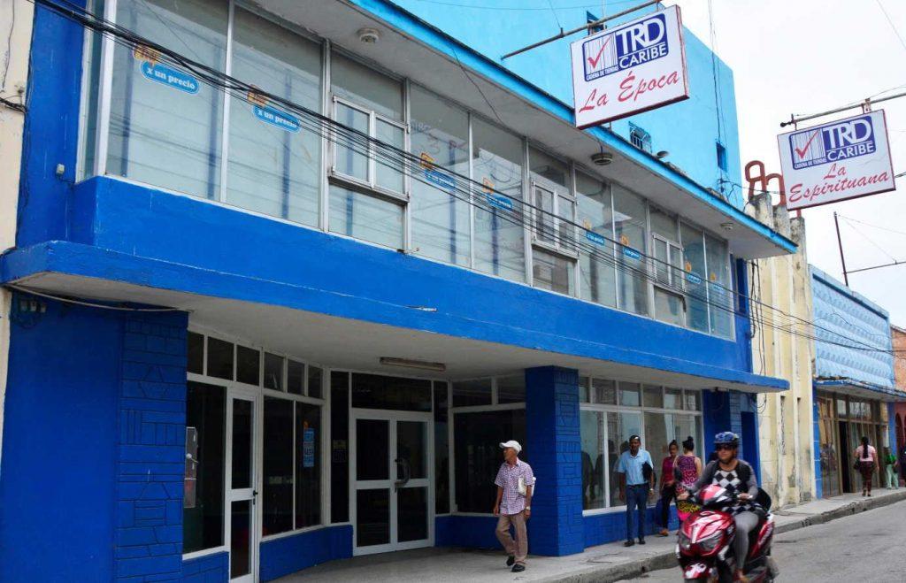 sancti spiritus, economia cubana, monedas libremente convertibles, mlc, cadena de tiendas caribe