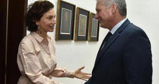 Cuba, Unesco, Díaz-Canel