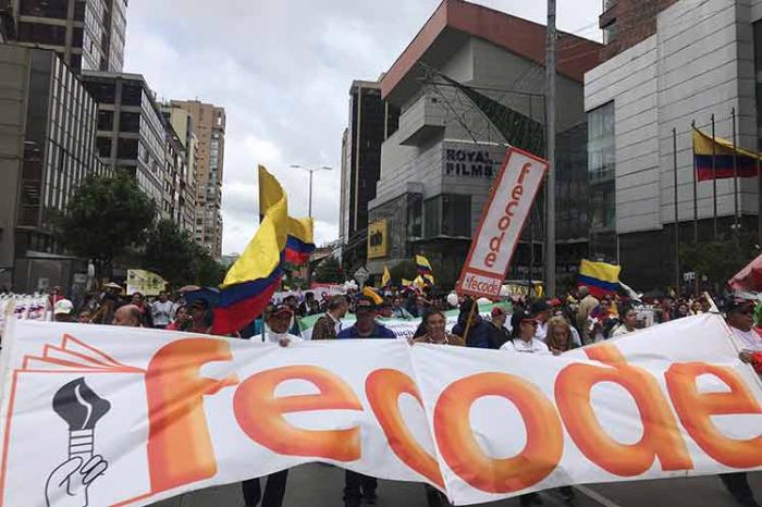 colombia, manifestaciones, sebastian piñera
