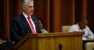 Parlamento, Cuba, Díaz-Canel, discurso