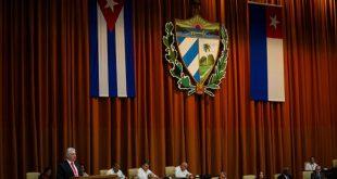 Parlamento, Asamblea Nacional, Díaz-Canel, bloqueo