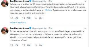 Bolivia, golpe, fraude, Evo Morales