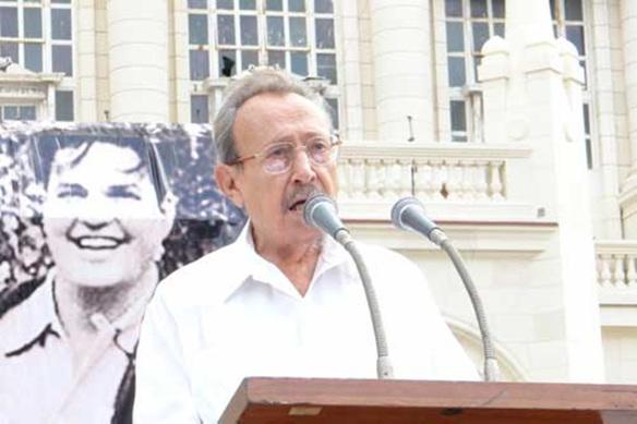 Tributo de Raúl a Faure Chomón — En Audio