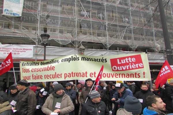 francia, huelga, paros, enmanuel macron