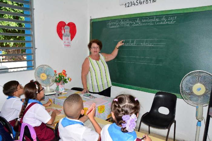 sancti spiritus, enseñanza especial, debiles viasuales, oftalmologia
