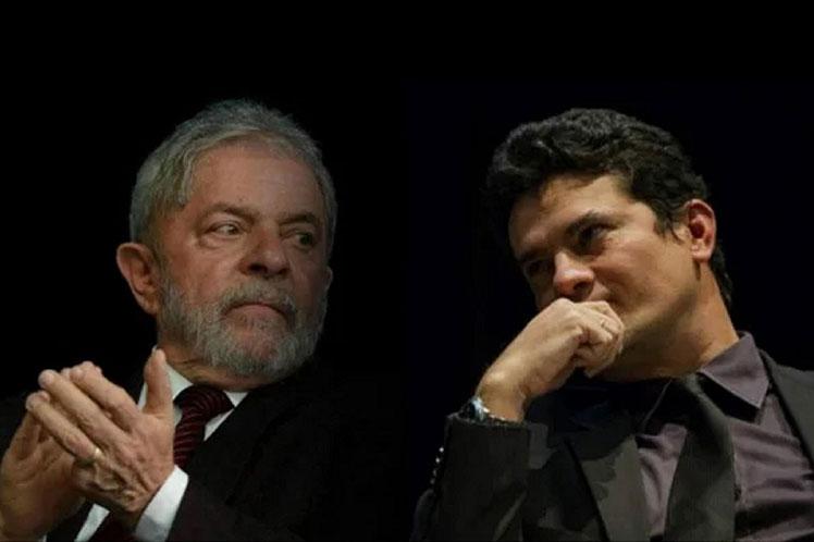 El Ministerio Públco rechazó el cuestionamiento a la  imparcialidad del exjuez Sérgio Moro en el caso. (Foto: PL)