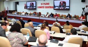 Pleno, PCC, Raúl Castro