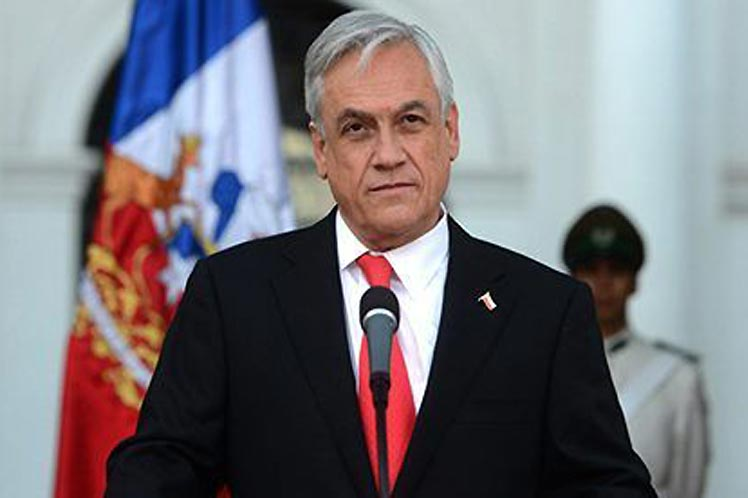 El respaldo al mandatario chileno cayó en picada en los últimos cuatro meses. (Foto: PL)