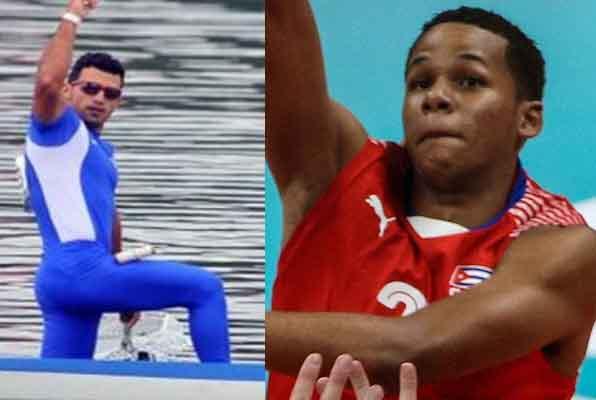 El canoista Serguey Torres y el voleibolista Osniel Melgarejo se ubicaron en la avanzada del deporte cubano en 2019.