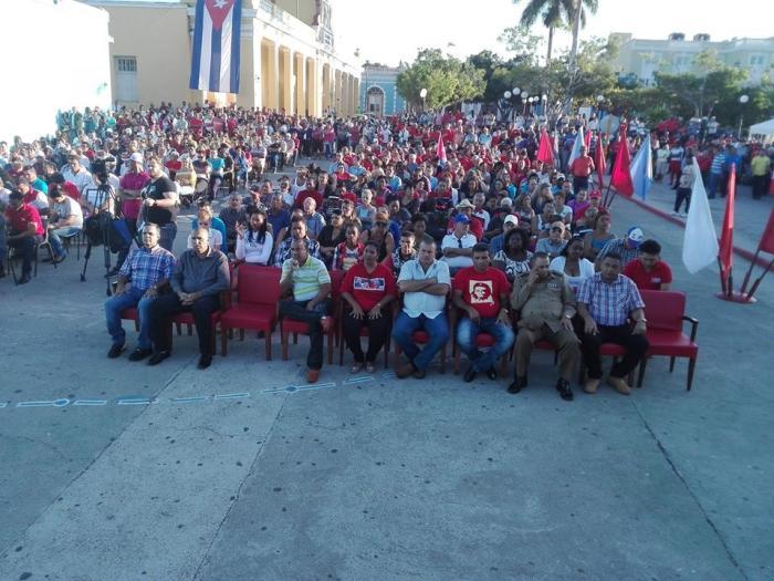 trinidad, aniversario 61 del triunfo de la revolucion, liberacion de trinidad, faure chamon