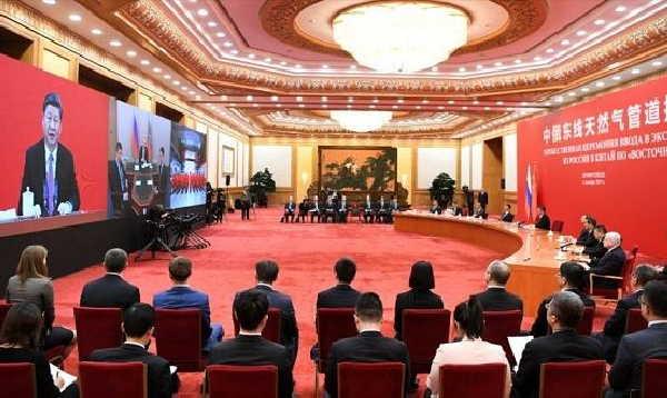rusia, china, gasoducto