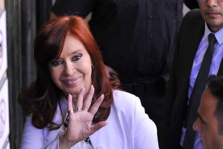 La historia me absolvió y me absolverá, aseguró Cristina. (Foto: PL)