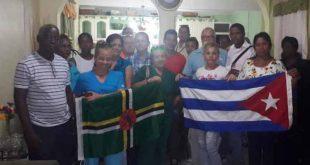 Salud, colaboradores, Cuba