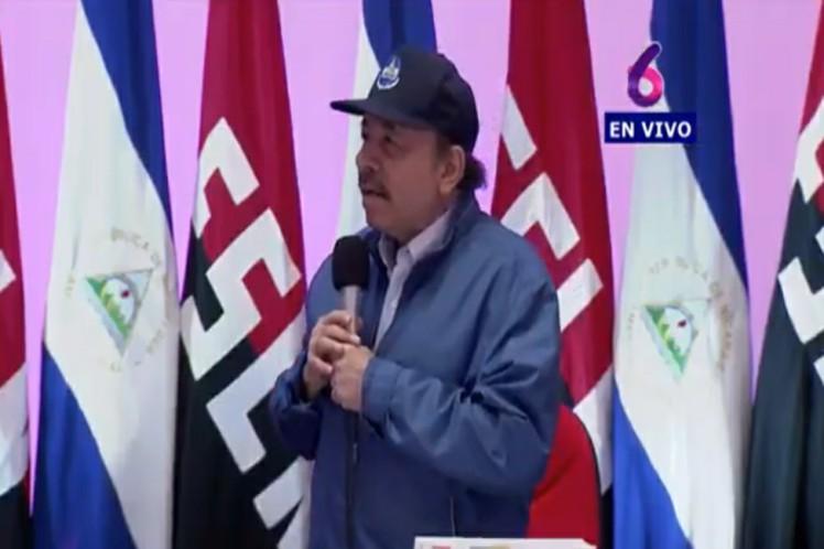 Unidad para la paz, pidió Ortega.