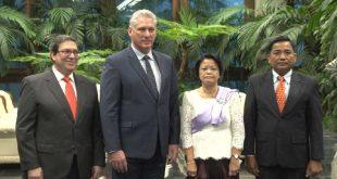 cuba, embajadores, relaciones diplomaticas, embajadores, miguel diaz-canel, presidente de la republica de cuba