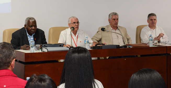 cuba, parlamento cubano, asamblea nacional del poder popular, comisiones permanentes, miguel díaz-canel, presidente de la republica de cuba