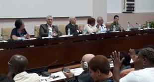 cuba, anci, asociacion nacional del ciego, miguel diaz-canel, presidente de la republica de cuba