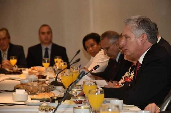 cuba, argentina, miguel diaz-canel, presidente de la republica de cuba, cuba-argentina