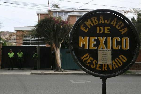 Bolivia, México, golpe, relaciones