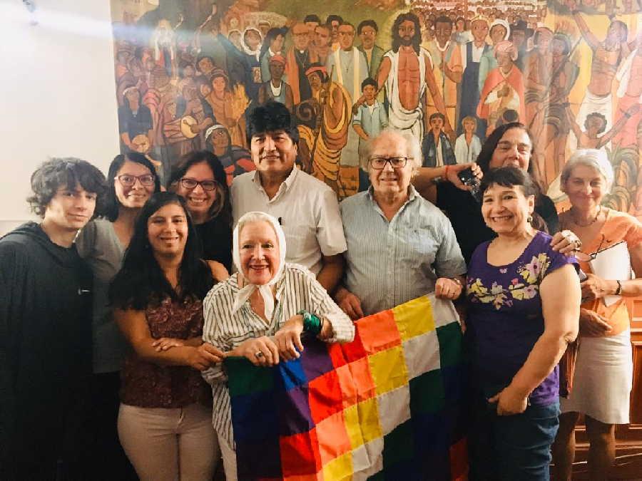 evo morales, bolivia, golpe de estado, adolfo perez esquivel