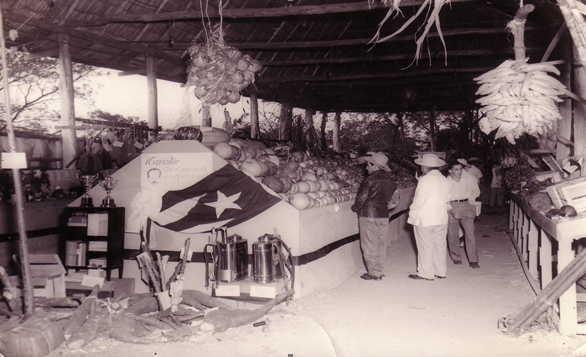 Última Feria desarrollada en la antigua área en los terrenos detrás del Hospital Civil, aledaños a la cárcel de Sancti Spíritus.