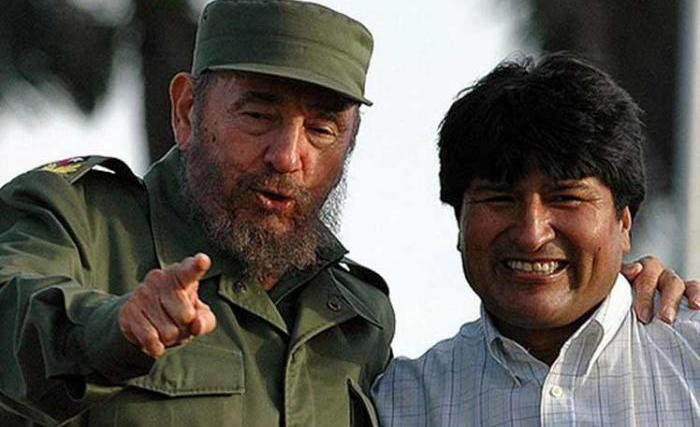 fidel castro, bolivia, evo morales, golpe de estado