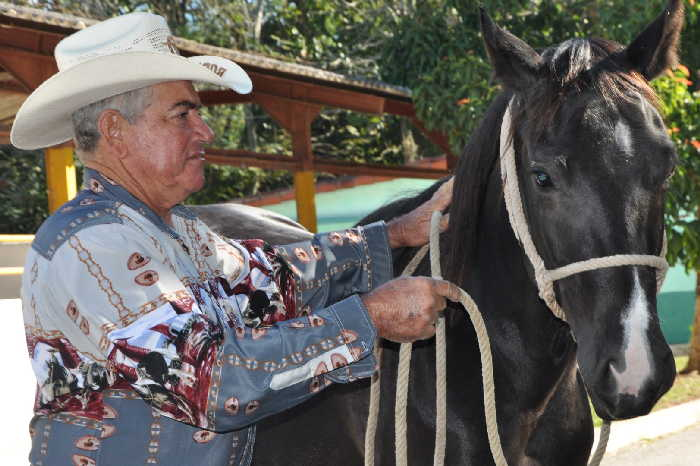 Gustavo Arias confiesa que el rodeo es parte indisoluble de la Feria.