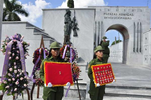 cuba, harry villegas, che guevara, heroe de la republica de cuba, miguel diaz-canel, presidente de la republica de cuba