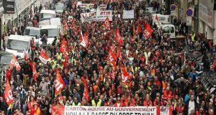francia, manifestaciones, huelgas