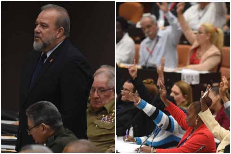 Marrero fue propuesto por el presidente Miguel Díaz-Canel, como dispone la Constitución. (Foto: PL)
