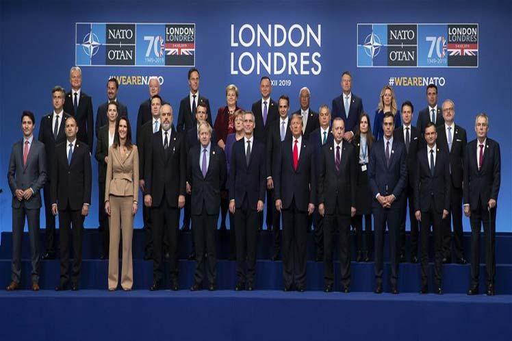 La OTAN cerró en Londres una cumbre marcada por las tensiones. (Foto: PL)