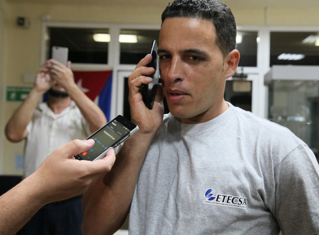 Etecsa, telefonía móvil, seis millones